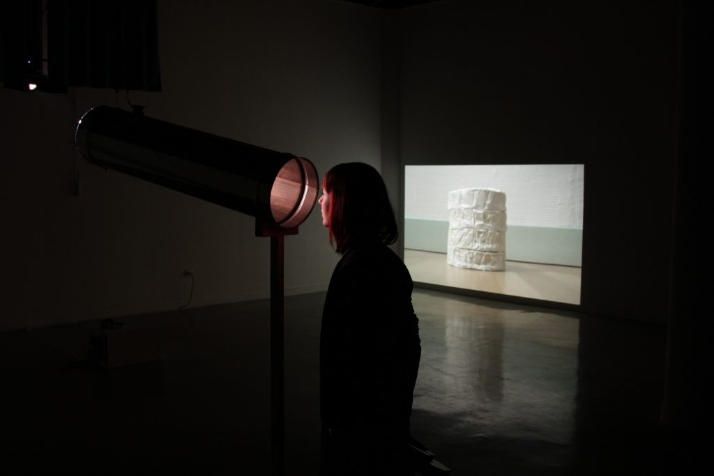 Melissa Ryke video sound installation art